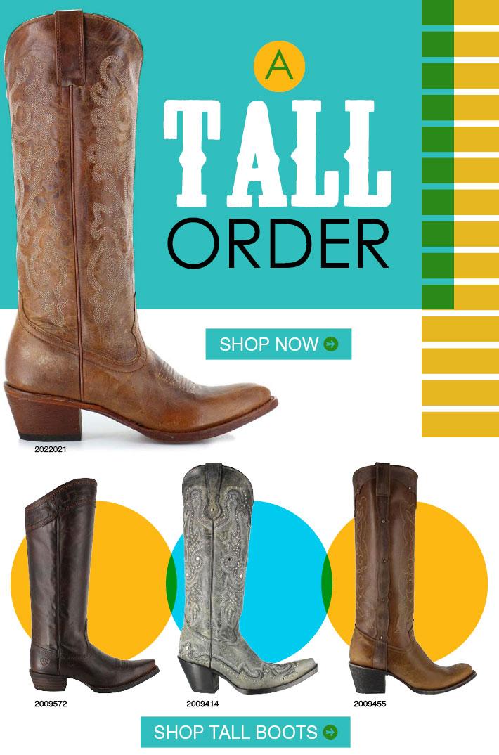 A TALL ORDER - Shop Tall Boots »