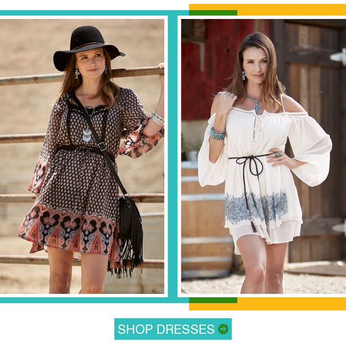 Shop Dresses »