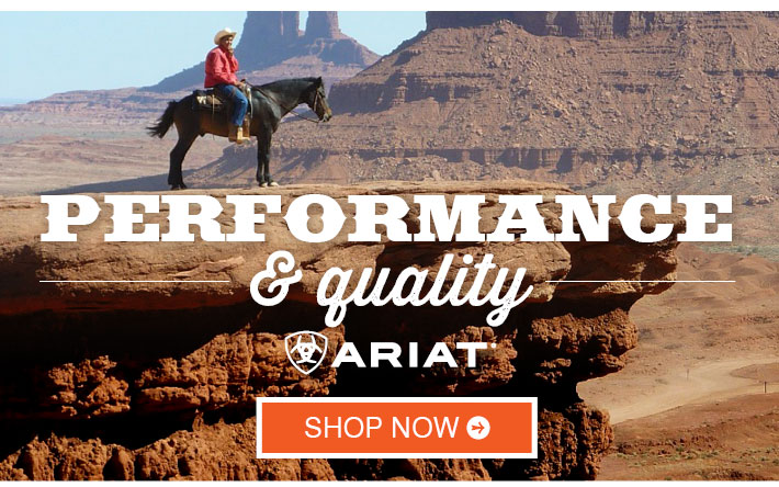 ARIAT BOOTS - Performance & Quality. Shop Now »