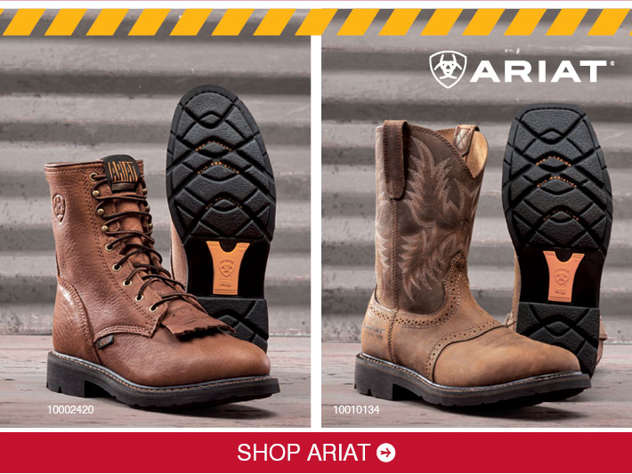 Shop Ariat Boots »