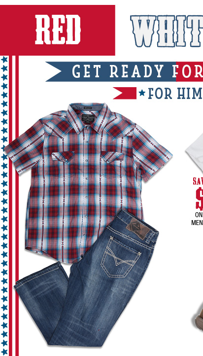 GET READY FOR THE 4TH - ShopMen's Shirts »
