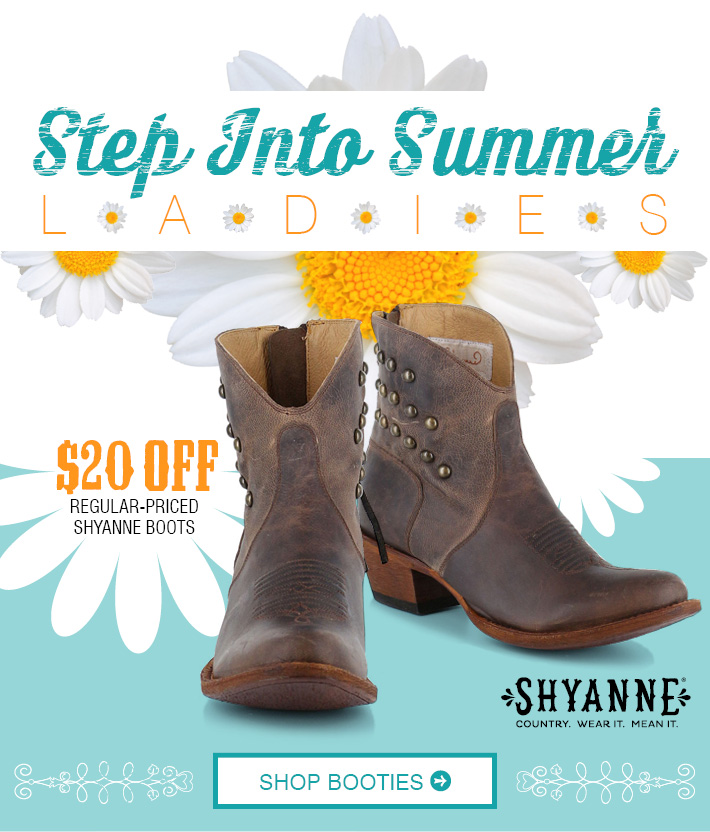 STEP INTO SUMMER LADIES' - Shop Women's Shyanne Booties »