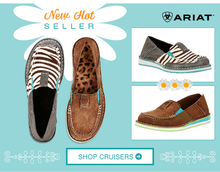 Shop Women's Ariat Cruisers »