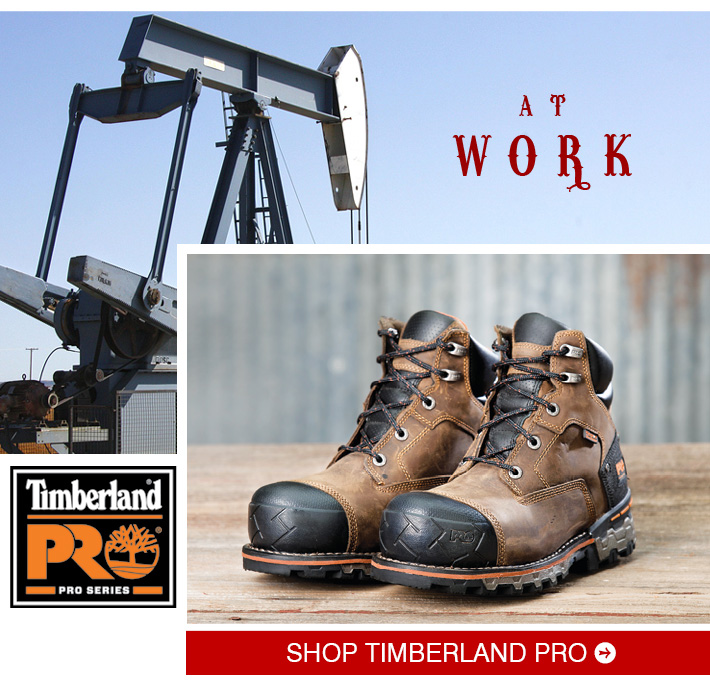 AT WORK - Shop Men's Timberland Pro Boots »